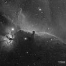 IC434 B33 Horse Head Nebula and Flame Ha,                                Francesco di Biase