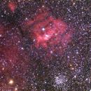 Bubble nebula,                                Daniele Gasparri