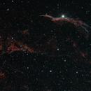 Western Veil Nebula,                                Christian Côté