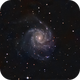 M101 CCD lum & DSLR color,                                MLuoto