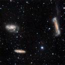 Leo Triplet M65 M66 NGC3628,                                José Manuel Taverner Torres