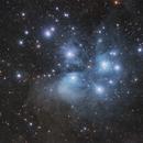 Messier 45 - Plejades,                                Hartmuth Kintzel