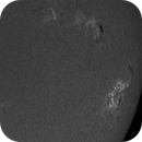 M8.1 class flare from AR2673 on 8 September 2017,                                Andy Devey