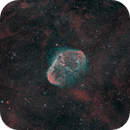 Crescent Nebula HSO Narrowband,                                Antonio.Spinoza