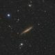 Spiral Galaxy NGC4945 and Elliptical Galaxy NGC4976,                                KiwiAstro