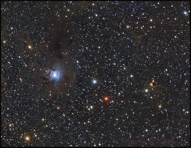 NGC7023 mit 72mm Evostar,                                Gottfried Meissner