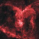 The Heart Nebula,                                Lyaphine