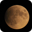 Time Lapse of Partial Lunar Eclipse on 2019-07-16,                                Ruediger