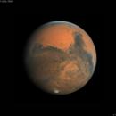 Mars on November 11   2020. Good seeing,                                chilescope