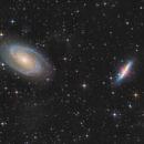M81, M82 in LRGB+Ha,                                Peter Folkesson