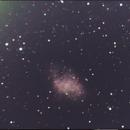 M1 Crab Nebula,                                aviegas