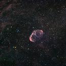 NGC 6888 Crescent Nebula HaRGB,                                Stan Westmoreland