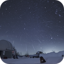 Geminid Meteor Shower over the snow and mammuth return !!,                                Alberto Vezzani