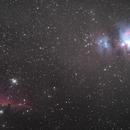 Orion and horsehead nebula,                                AstroNGC