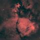 NGC896 - Fish Head Nebula - HaRGB,                                Dagolaf