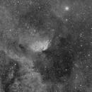 SH2-101 - Tulip Nebula - Halpha only,                                Jonas Illner