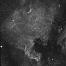 North America Nebula (NGC7000) in H-alpha,                                JDJ