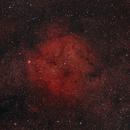 Elephant Trunk Nebula at Full Moon,                                FrostByte