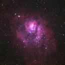 M8 - Lagoon nebula,                                neptun