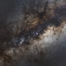 Galactic center in 50mm,                                Bogdan Borz