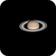 Saturne et ses lunes Rhéa, Dioné et Téthys,                                BLANCHARD Jordan