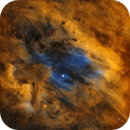 Sh2-119 in the Hubble Palette,                                Chuck's Astrophot...