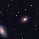 Trio in Draco NGC 5981 5982 5985,                                Ian Gorin