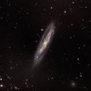 M98  Intermiediate Spiral Galaxy -- LRGB,                                Mike Mulcahy