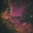 Wisard Nebula - NGC 7380 en HSO (Nébuleuse du magicien),                                Roger Bertuli