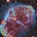 NGC 6888 - S2HaO3 (Antonucci & Pinciaroli),                                Francesco Antonucci