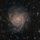 IC342 Hidden Galaxy in HaLRGB,                                Rudi Van Minnebru...