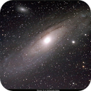 Messier 31, 32 & 110 or M31, M32, & M110 or Andromeda Galaxy,                                Stephen Harris