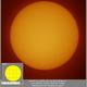 Sun in H-alpha, 20190705,                                Geert Vandenbulcke