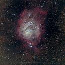 Lagoon Nebula RGB,                                Kevin Snedden