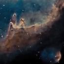 Nebulas portion of the Soul Nebula (Heavily cropped),                                Mike