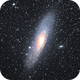 M31 - The Andromeda Galaxy,                                Viktor Stubbfält