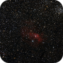 NGC7635 (Bubble Nebula) - Messier 52 (Cluster),                                Juan P. Ramón