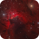 The Cave Nebula Sh2-155,                                Barry Wilson