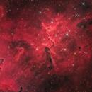 Ic 1805 The Core of Heart Nebula,                                Emmanuel