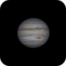 Jupiter Rotation animated GIF,                                Bernhard Zimmermann