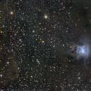 NGC 7023 Nebulosa Iris,                                GALASSIA 60