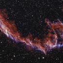 Eastern Veil Nebula,                                Dan Shallenberger