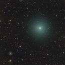 Nearby Comet C/2020 M3 ATLAS,                                Dan Bartlett