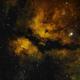 Butterfly nebula in SHO palette,                                Janos Barabas