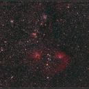 Flaming Star widefield,                                Astro-Clochard