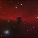 Horsehead Nebula (B33) HaRGB Test Affinity 1.9,                                mikefulb