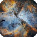 Carina Nebula in SHO - my first mono camera image ASI294mm,                                robonrome