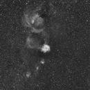 Nébuleuses de la Rosette et du cône,                                ASTROIDF