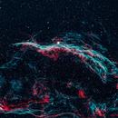 Western Veil Nebula - NGC6960,                                gmvtex