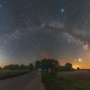Summer Milky Way from Podlasie,                                Łukasz Żak
